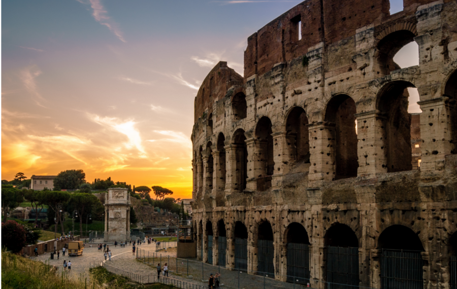 VIP Colosseum and ancient Rome